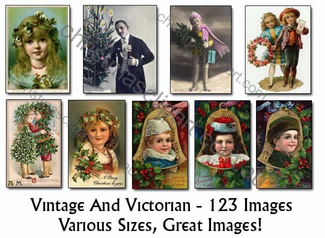 victorian christmas clipart,old christmas pics,vintage christmas clipart